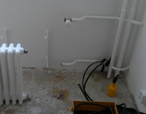 Oprava litinového radiátoru
